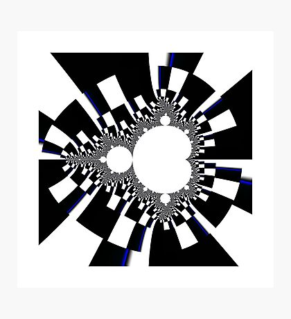 Mandelbrot XVI - Black Photographic Print