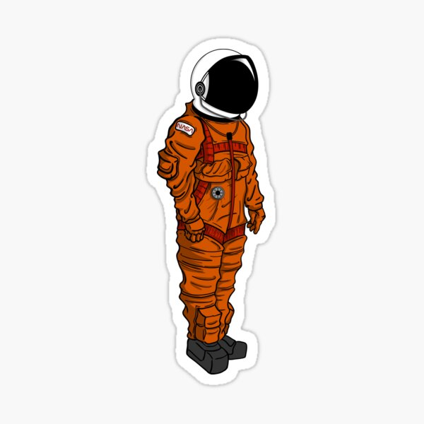NASA (LES) Sticker