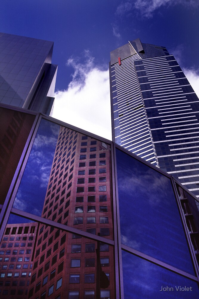 Melbourne Skyscrapers by John Violet