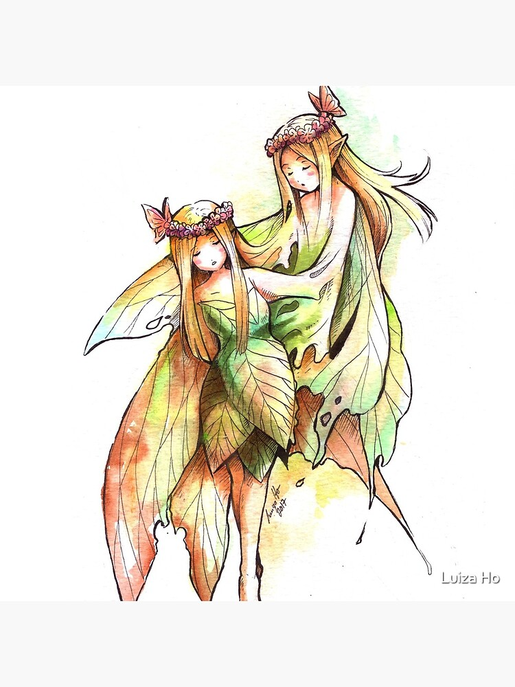 The Divided Fairy by teapotsandhats