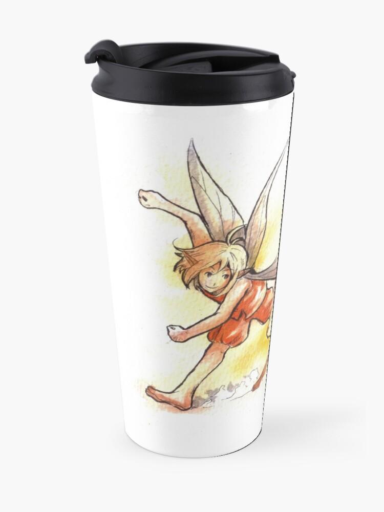 Alternate view of The Running Fairy Travel Mug