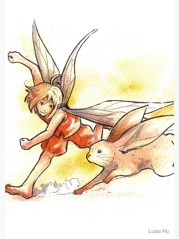 The Running Fairy by teapotsandhats