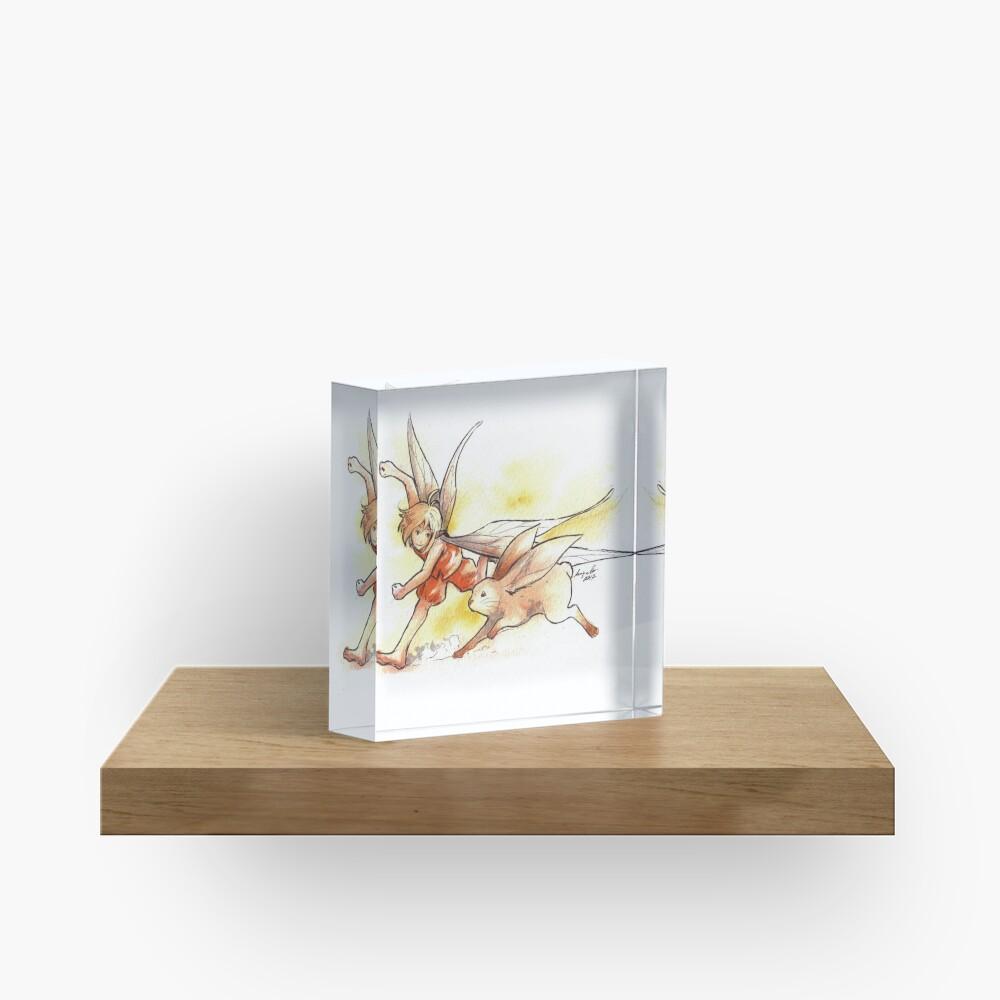 The Running Fairy Acrylic Block