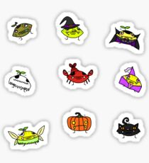 Lemon Man Halloween Stickerpack Sticker