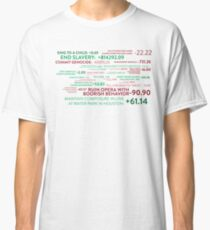 The Good Place - Points System Classic T-Shirt