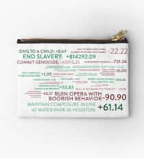 The Good Place - Points System Studio Pouch