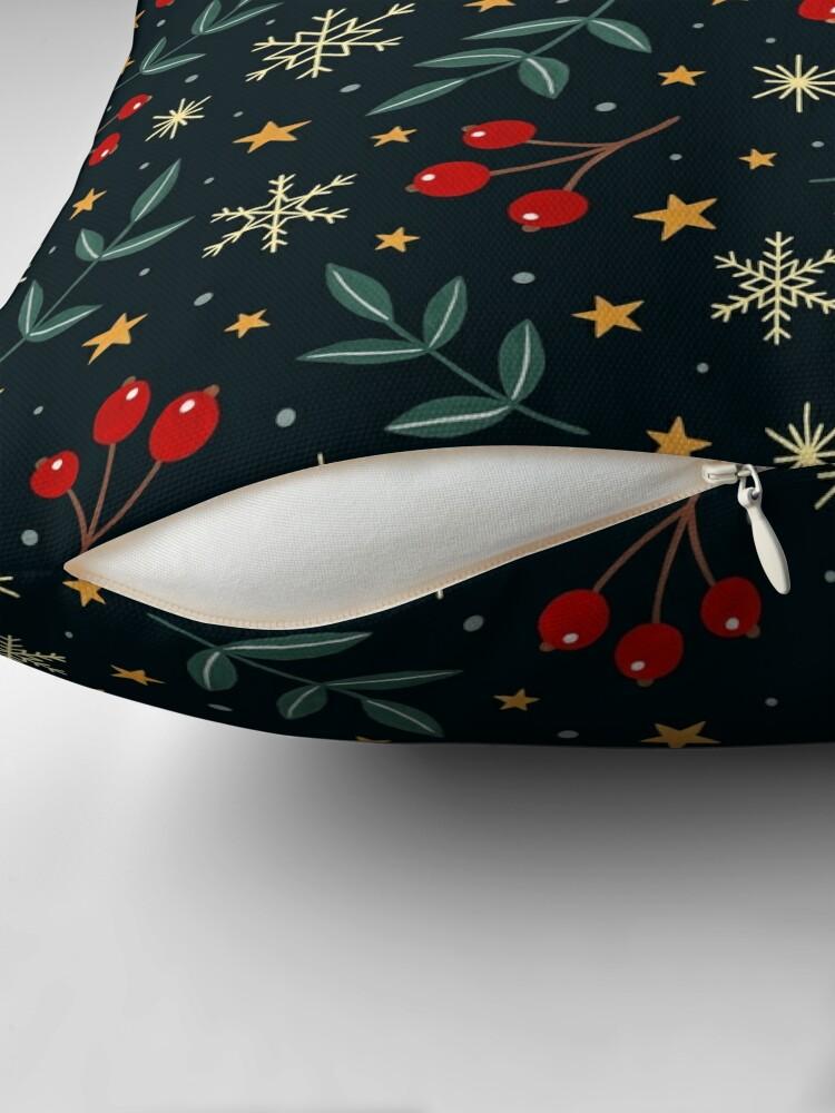 Alternate view of Winter magic Throw Pillow