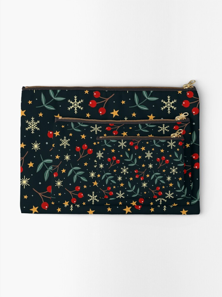 Alternate view of Winter magic Zipper Pouch