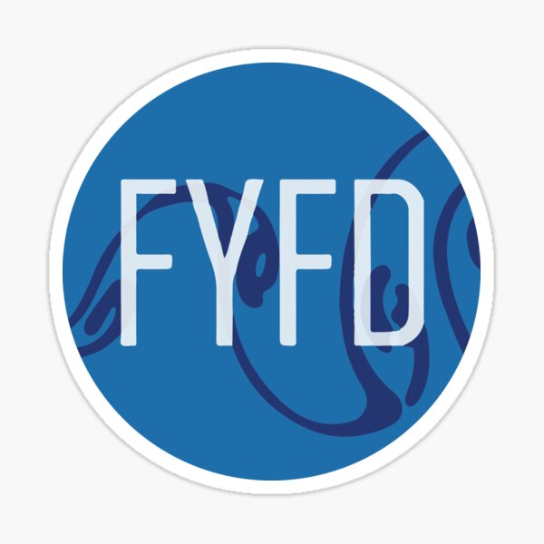 FYFD Vortex Street Sticker (2016 edition) Sticker