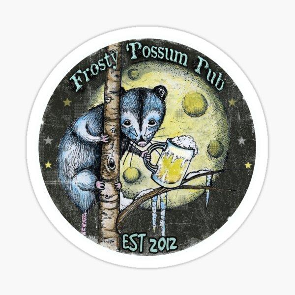 Frosty Possum Pub Sticker