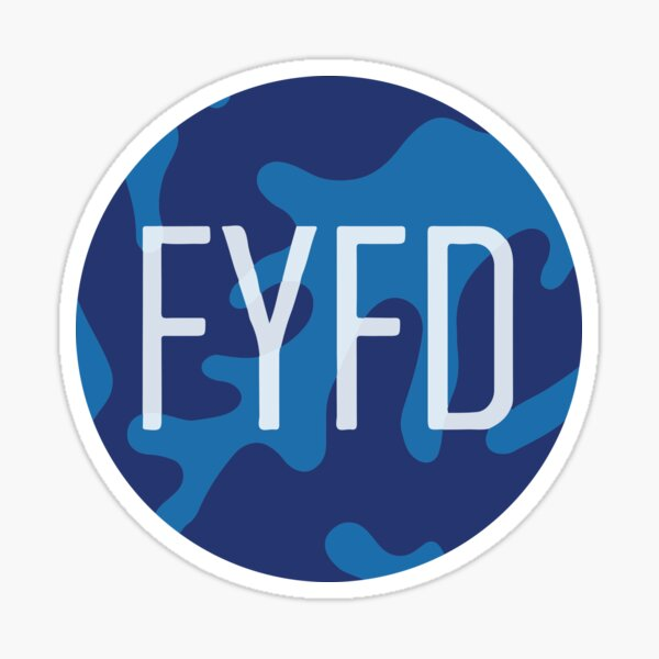 FYFD Saffman-Taylor Sticker (2016 edition) Sticker