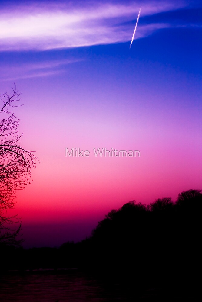 Crazy Sunset! by Mike Whitman