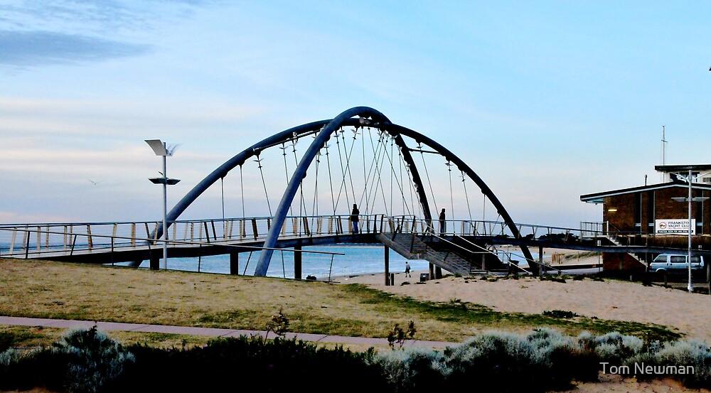 Bridge over Kananook Creek Frankston by Tom Newman