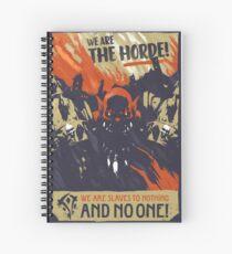 Garrosh Hellscream Spiral Notebook