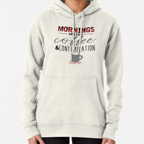 Jim Hopper Quote Pullover Hoodie
