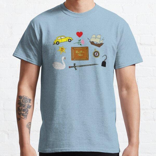 Captain Swan Comic Icons Pattern Classic T-Shirt