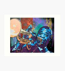 Louis Armstrong Pop Art Print