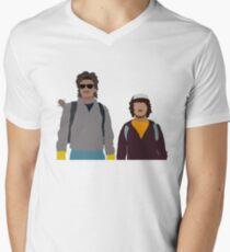 Strange Buddies Men's V-Neck T-Shirt