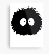 Soot Ball Metal Print