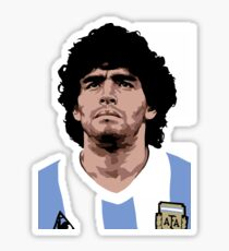 Maradona Merchandise Sticker