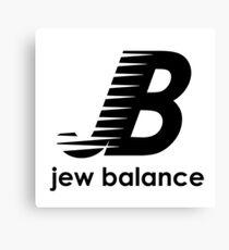 Jew Balance Canvas Print