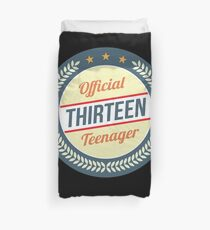 Official 13 Teenager, Gift For Teen Gift For 13th Birthday Teenager T-Shirt Sweater Hoodie Iphone Samsung Phone Case Coffee Mug Tablet Case Duvet Cover