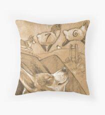 Herding Dreams Throw Pillow