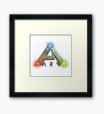 ARK Survival Logo Merchandise Framed Print