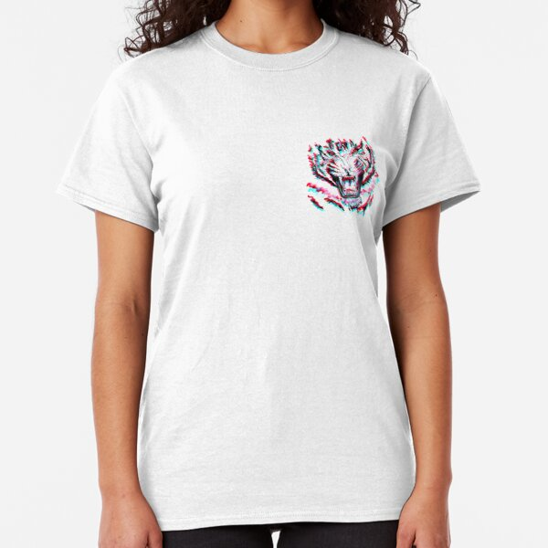 TIGER 3D MINI LOGO THEMIKY Classic T-Shirt