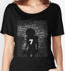 Black Lives Matter: Why Kaepernick Takes a Knee Women's Relaxed Fit T-Shirt