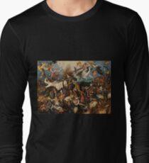 Pieter Bruegel the Elder 'The Fall of the Rebel Angels' vintage art T-Shirt