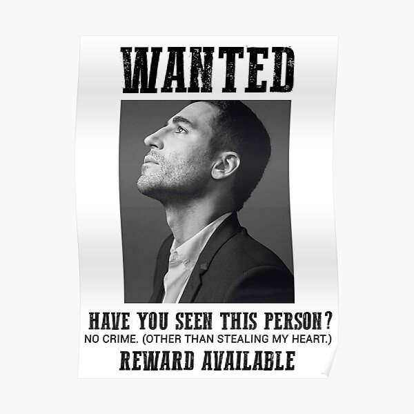 wanted: miguel angel silvestre Poster