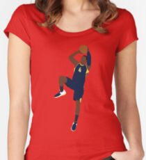 Victor Oladipo Fade Women's Fitted Scoop T-Shirt