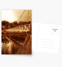 """The Swing Bridge"" Postcards"