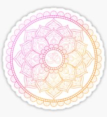 Ohm Lotus Sticker