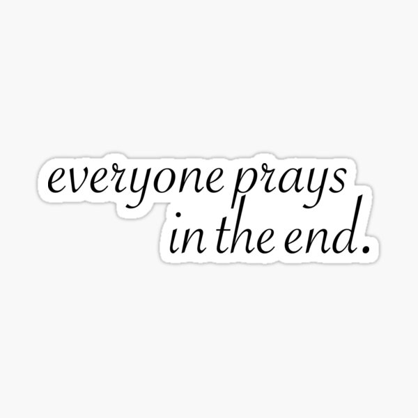 Sam Smith Pray Lyrics Sticker
