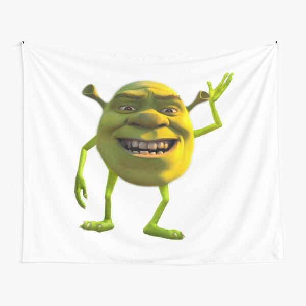 Shrek Wazowski Tapestry