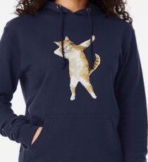 Tupfendes Katzen-Kätzchen-lustiges Tupfen-T-Stück Coole Tanz-Miezekatze Leichter Hoodie