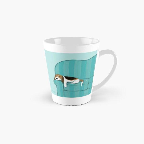 Happy Couch Dog | Cute Beagle Tall Mug