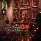 Silent night - Christmas card by Celeste Mookherjee