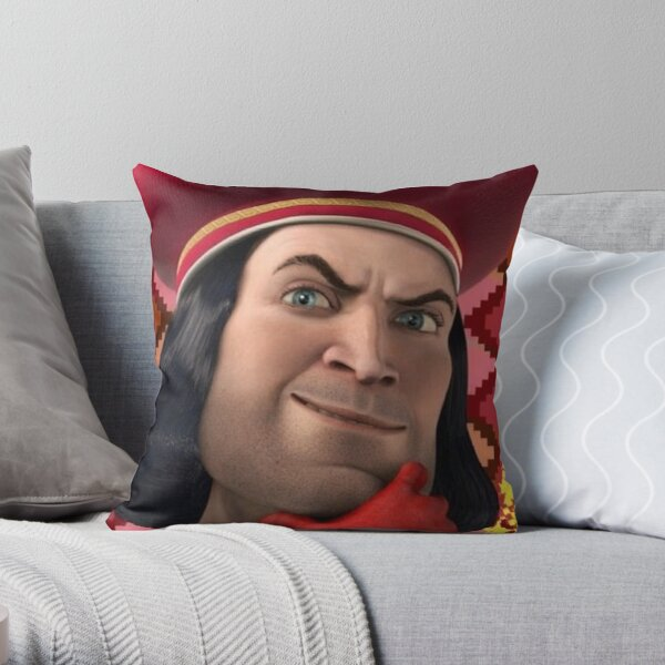 LoRd FaRQuaAd Throw Pillow