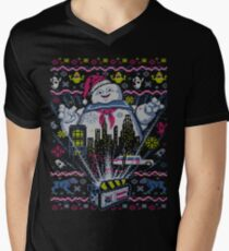 There is no Santa, only Zuul Men's V-Neck T-Shirt