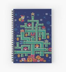 It's a tree, Mario! Spiral Notebook