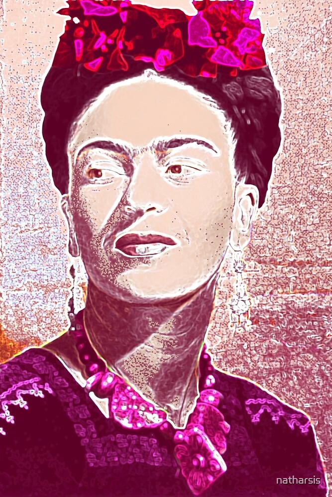 Neon Frida by natharsis