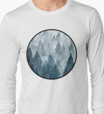 Clear Winter Long Sleeve T-Shirt