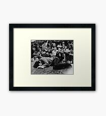 The Doors LIVE - Jim Morrison Framed Print