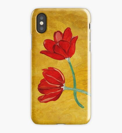 Tulips with Love, Happy Together  iPhone Case