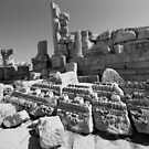 JERASH RUINS by BYRON