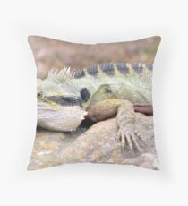 """Sunbaking At Surfers Paradise"" Throw Pillow"