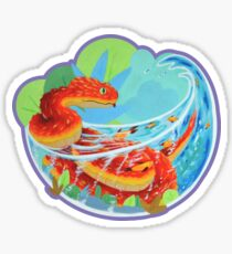 Bush Viper Bathing Sticker